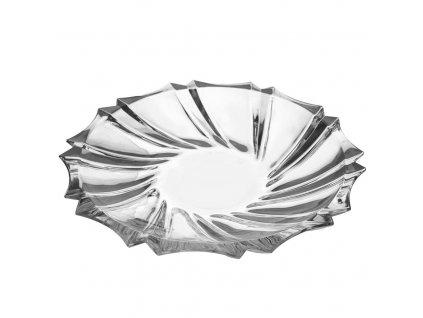 Talíř sklo servírovací CRYSTAL pr. 28 cm