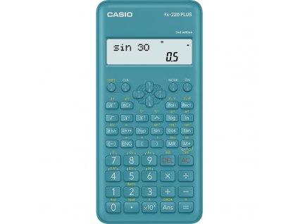 Kalkulačka Casio FX 220 PLUS 2E - modrá