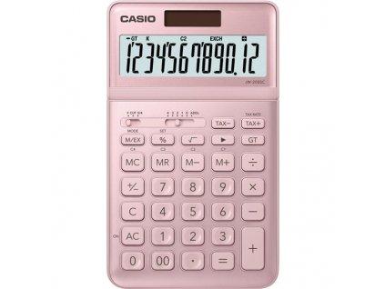 Kalkulačka Casio JW 200 SC PK - růžová