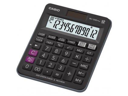 Kalkulačka Casio MJ-120D Plus - černá