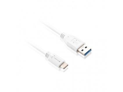 Kabel GoGEN USB/USB-C, 2m - bílý