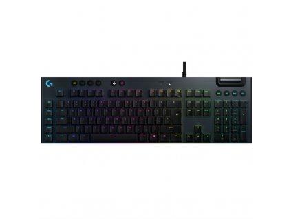 Klávesnice Logitech Gaming G815 Lightsync RGB, Linear, US - černá