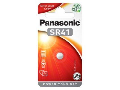Baterie Panasonic SR41, blistr 1ks