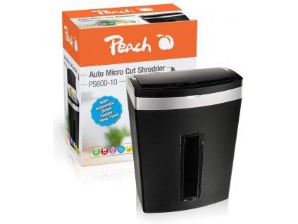 Skartovač Peach PS600-10, 7 listů, 20 l