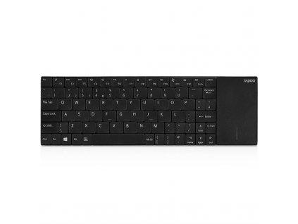 Klávesnice Rapoo E2710, CZ+SK layout - černá