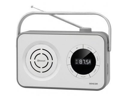 Radiopřijímač Sencor SRD 3200W, bílý