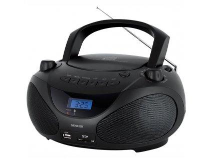 Radiopřijímač s CD Sencor SPT 3228, černý
