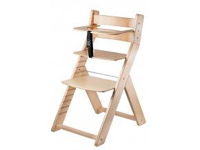 Rostoucí židle WOOD PARTNER LUCA LAK