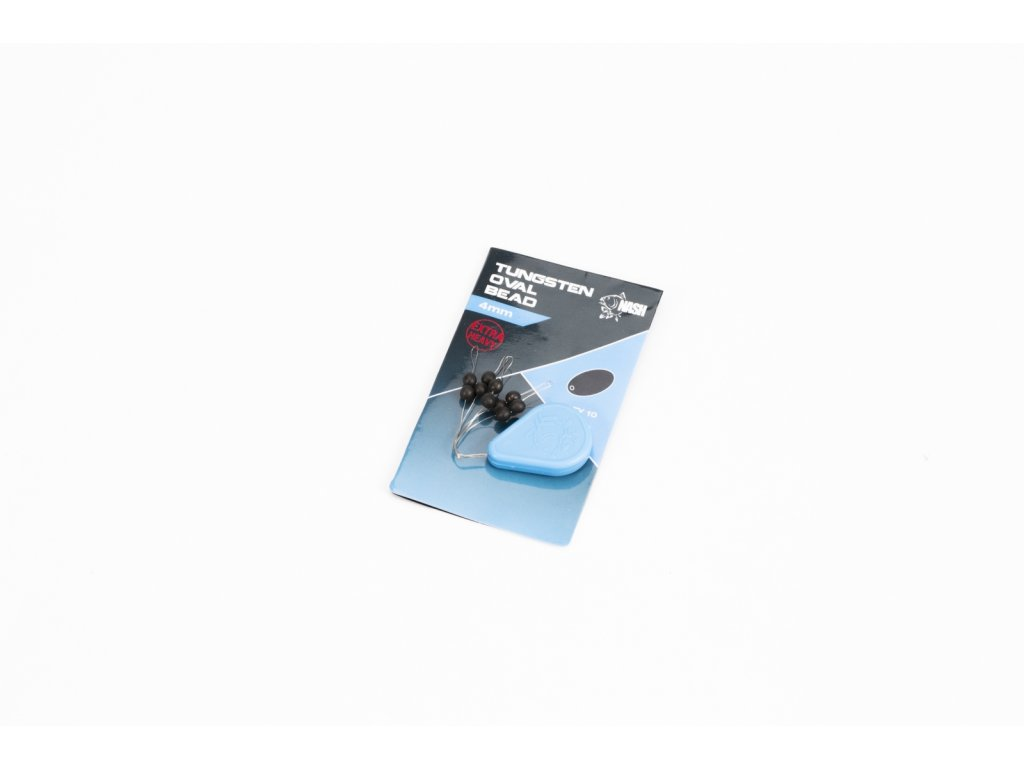 Tungsten Oval Bead 4mm (Barva 3)