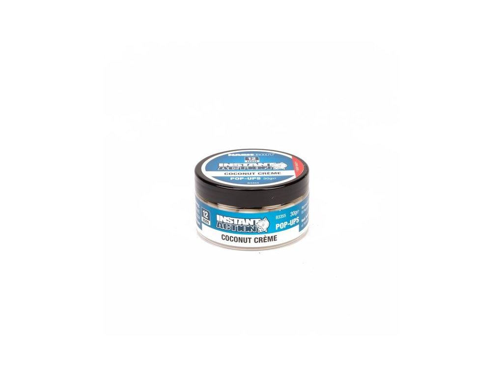 Coconut Cr�me Pop Ups 15mm (35 grams) (Barva 4)