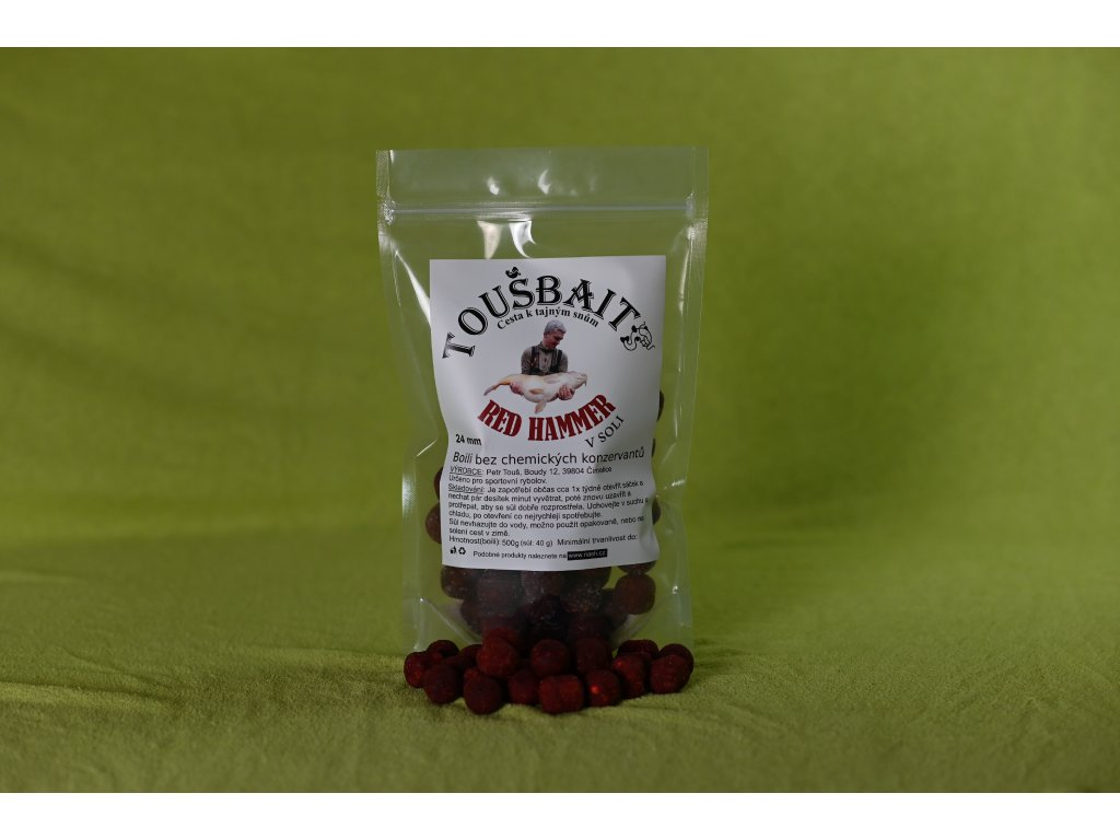 Red Hammer Boilies 24mm
