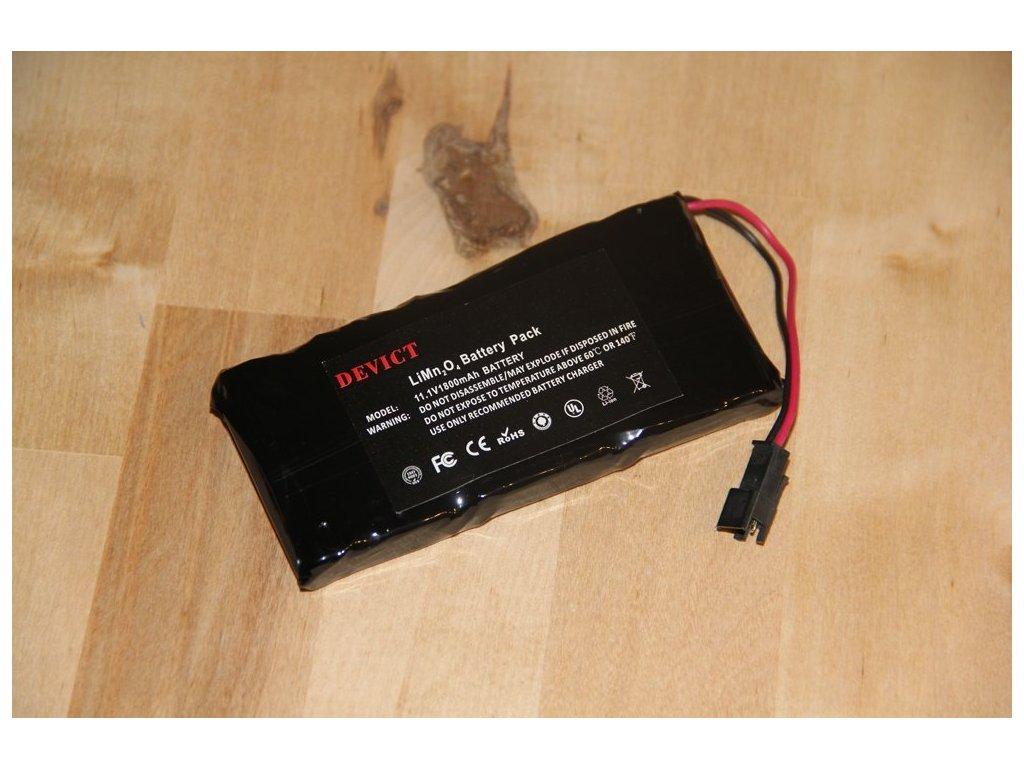 Lithiový akumulátor do dálkových ovladačů