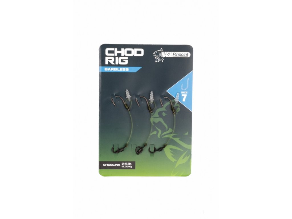 Chod Rig Size 5 Barbless (Barva 8)