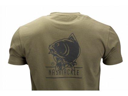 Nash Tackle T-Shirt Green XXL (Barva 9)