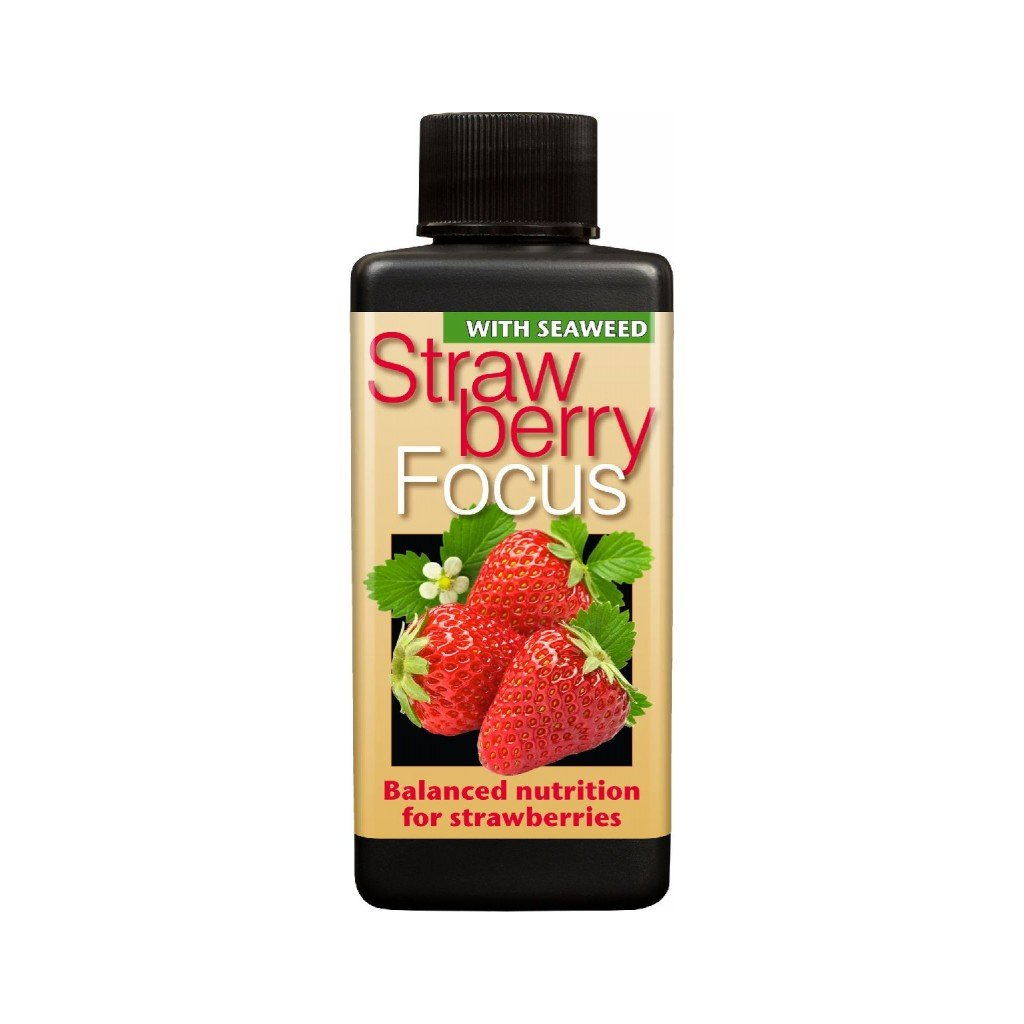 Growth Technology - Strawberry Focus (různý objem)