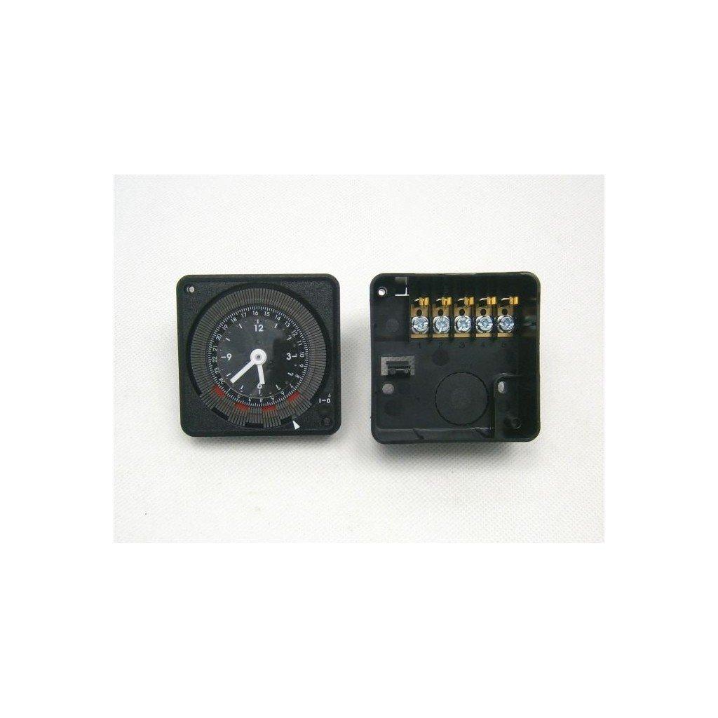 spínací hodiny DIN/povrch,otvor/mechanické