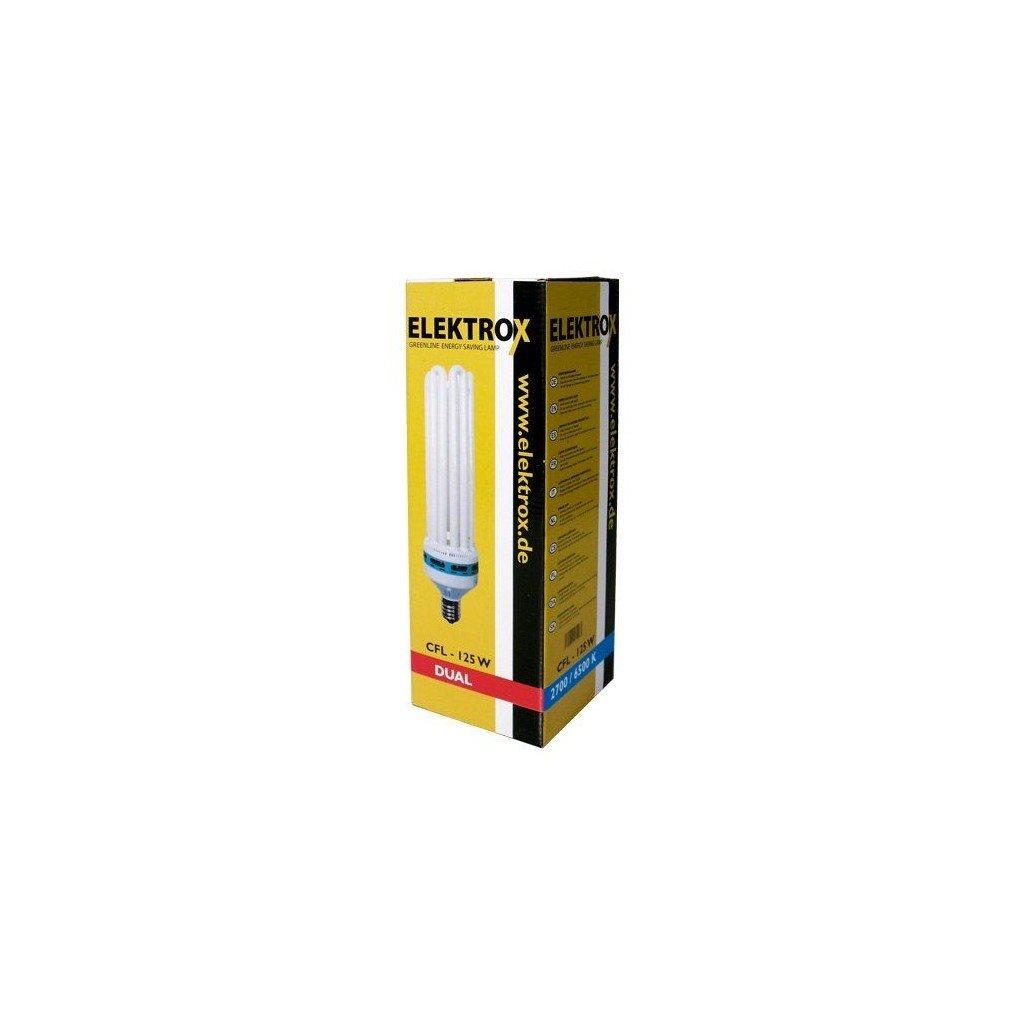 ELEKTROX úsporná lampa 125 W, 2700 / 6500 K kombinovane spectrum, s int. předř., paticeE40