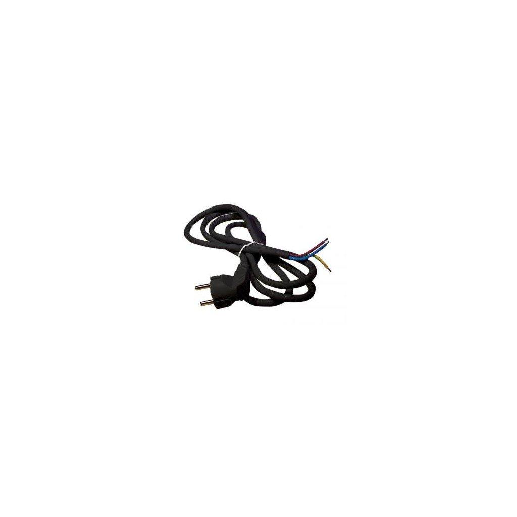 Flexo šnůřa s vidlicí (3m 3x1,5mm)