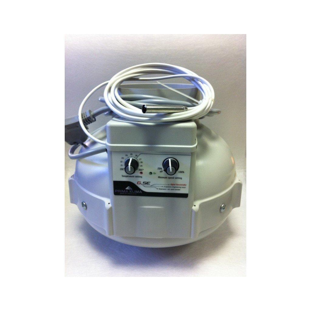 Ventilator PRIMA KLIMA s regulatorem min. rychlosti 125mm