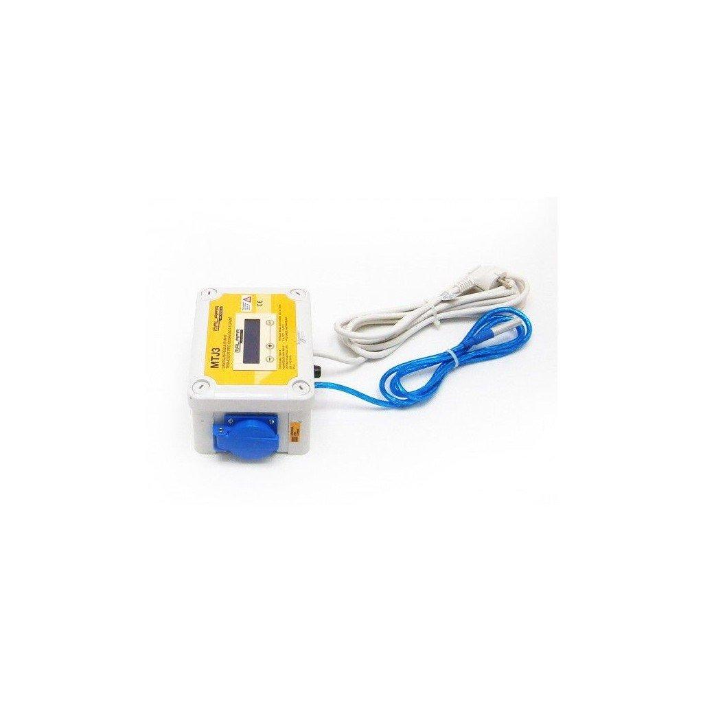 DVOJ digitální termostat pro topení a termostat s regulací pro odsávání (min a max výkon)