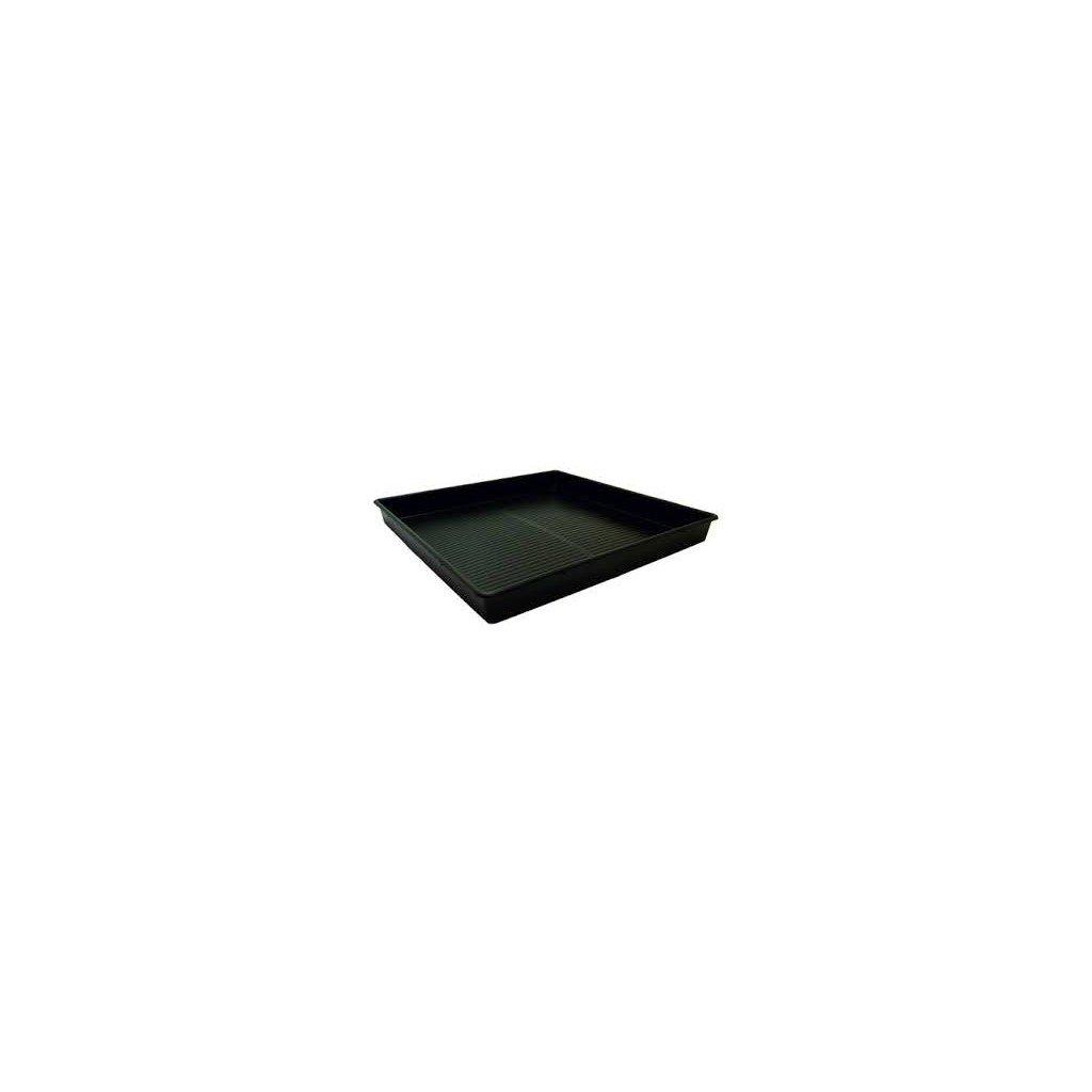 Growth Technology - Square Tray Black 120x120cm, 12cm deep