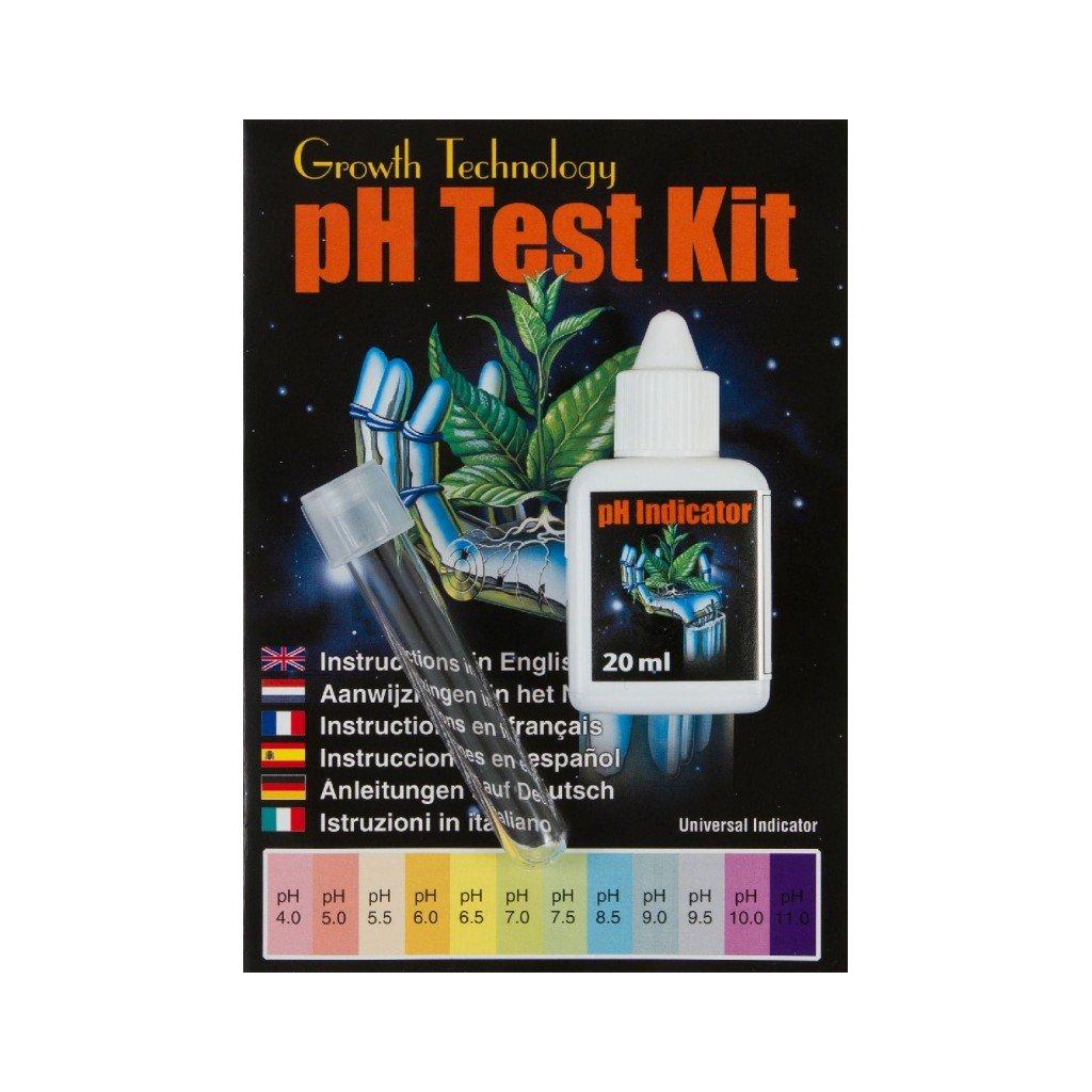 Growth Technology - pH Test Kit 20ml