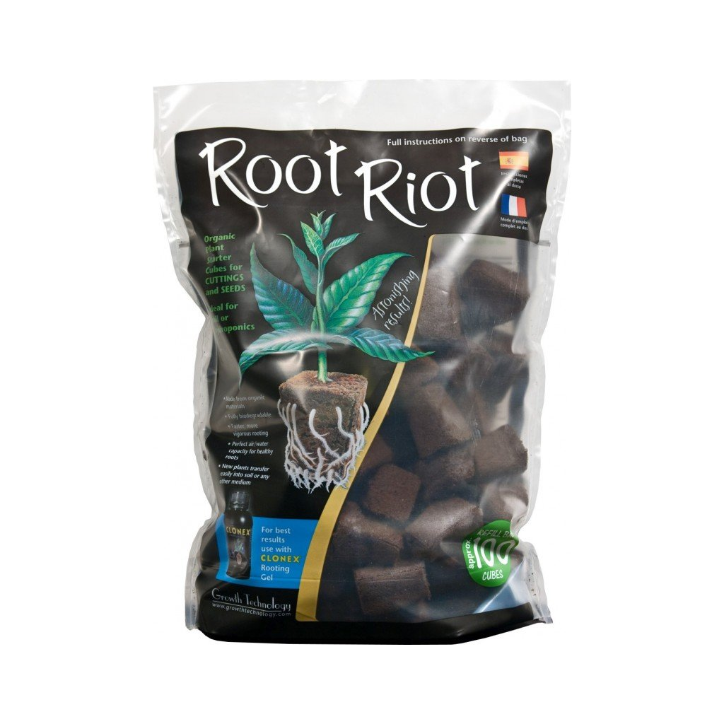 Growth Technology - Root Riot 1 BAG / 100 ks