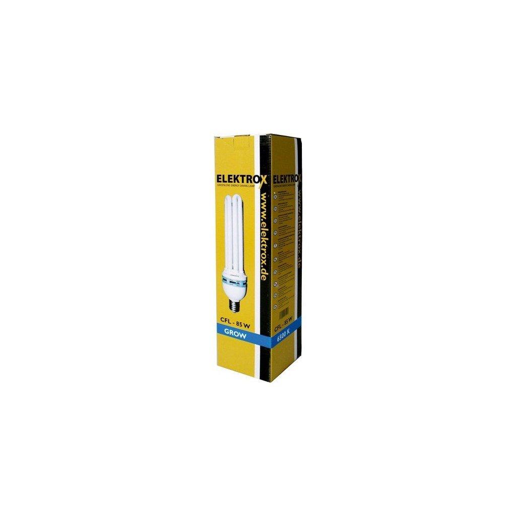ELEKTROX úsporná lampa 85 W, 6500 K, růstové spektrum s integrovaným předř.