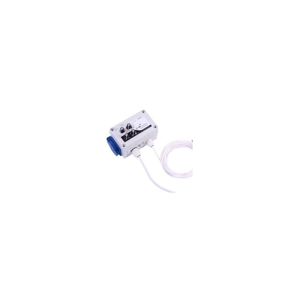 GSE Digitalní regulátor teploty, min&max rychlosti ventilatoru a hystereze 1A