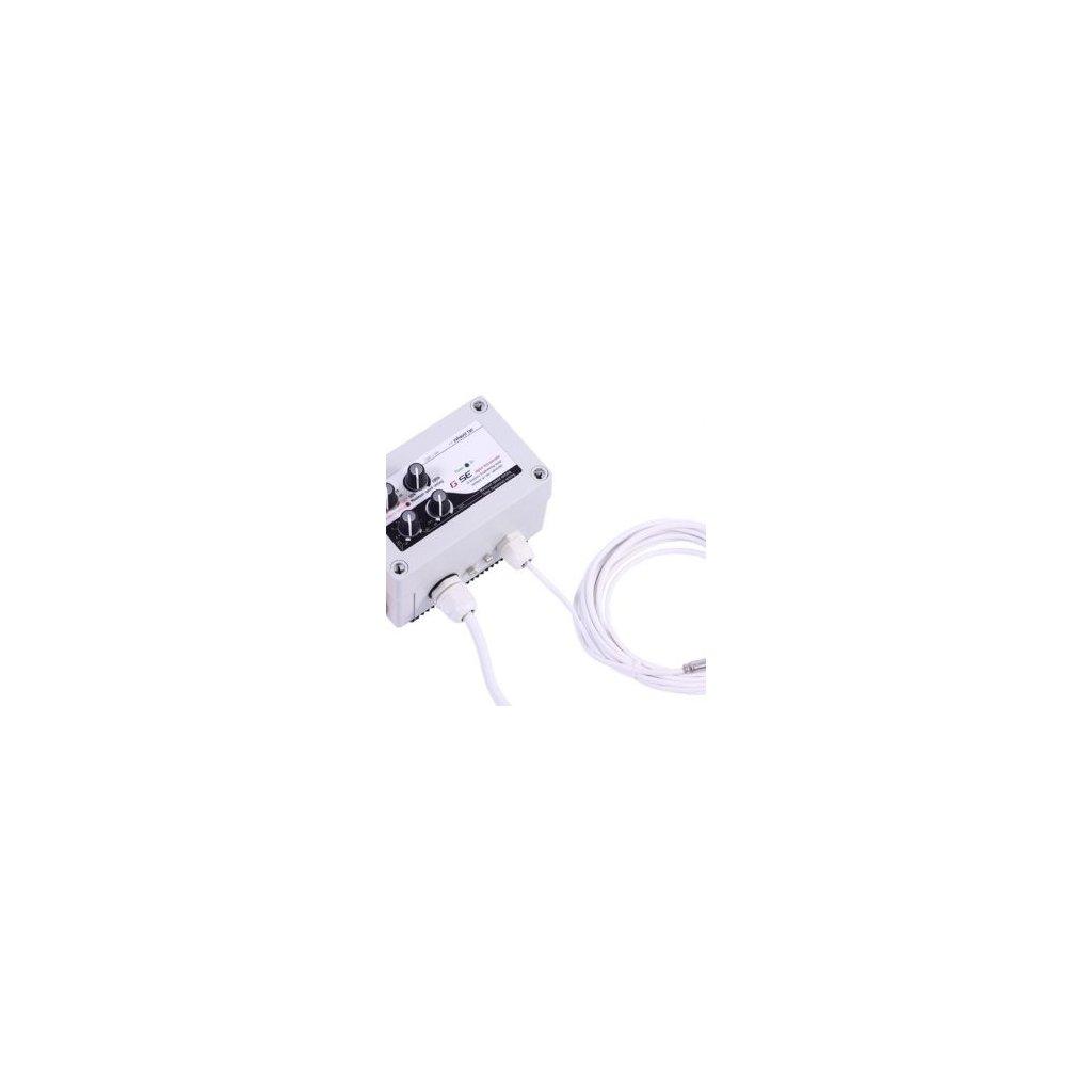GSE Digitalní regulátor teploty, min&max rychlosti ventilatoru a hystereze 2x5A