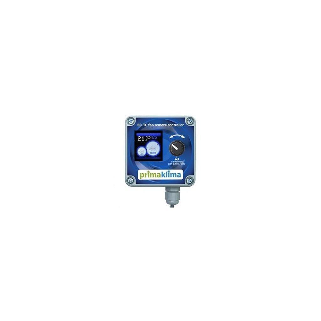 Prima Klima Digitální regulátor teploty, max/min rychlosti