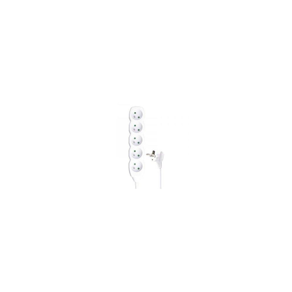 Prodlužovací kabel 5 zásuvek 3m 3x 1,5mm