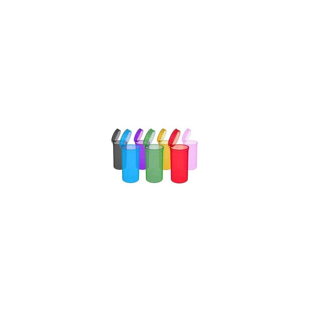 Pop Top uzavíratelná kapesní dóza (různé barvy)