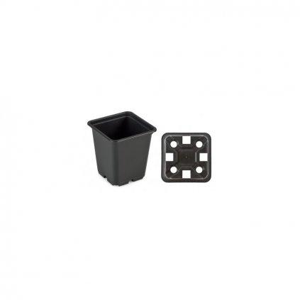 Květináč 9 x 9 x 10 EX black 0,5 l