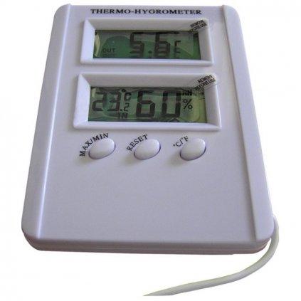 Digitální Thermo/Hygro metr premium se sondou