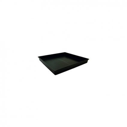 Growth Technology - Square Tray Black 61x61cm, 7cm deep