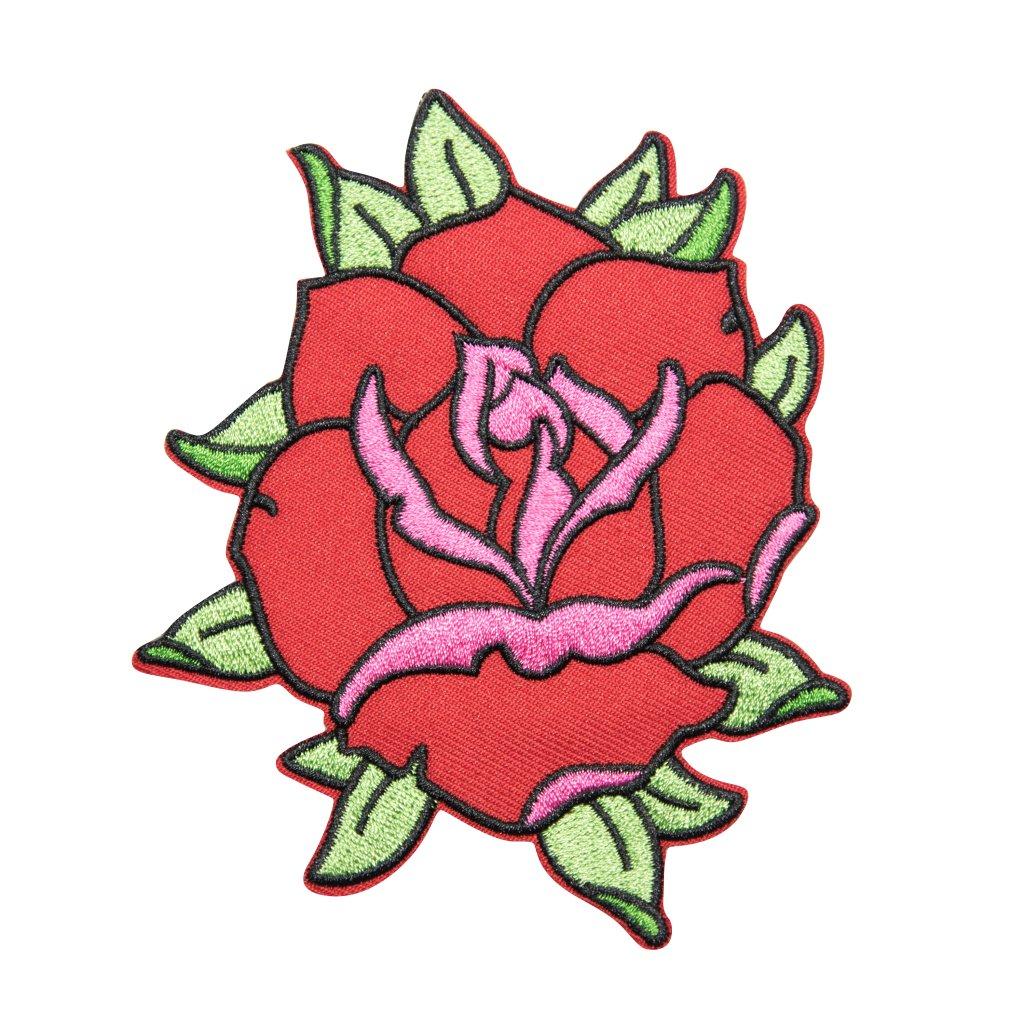 Růže nášivka