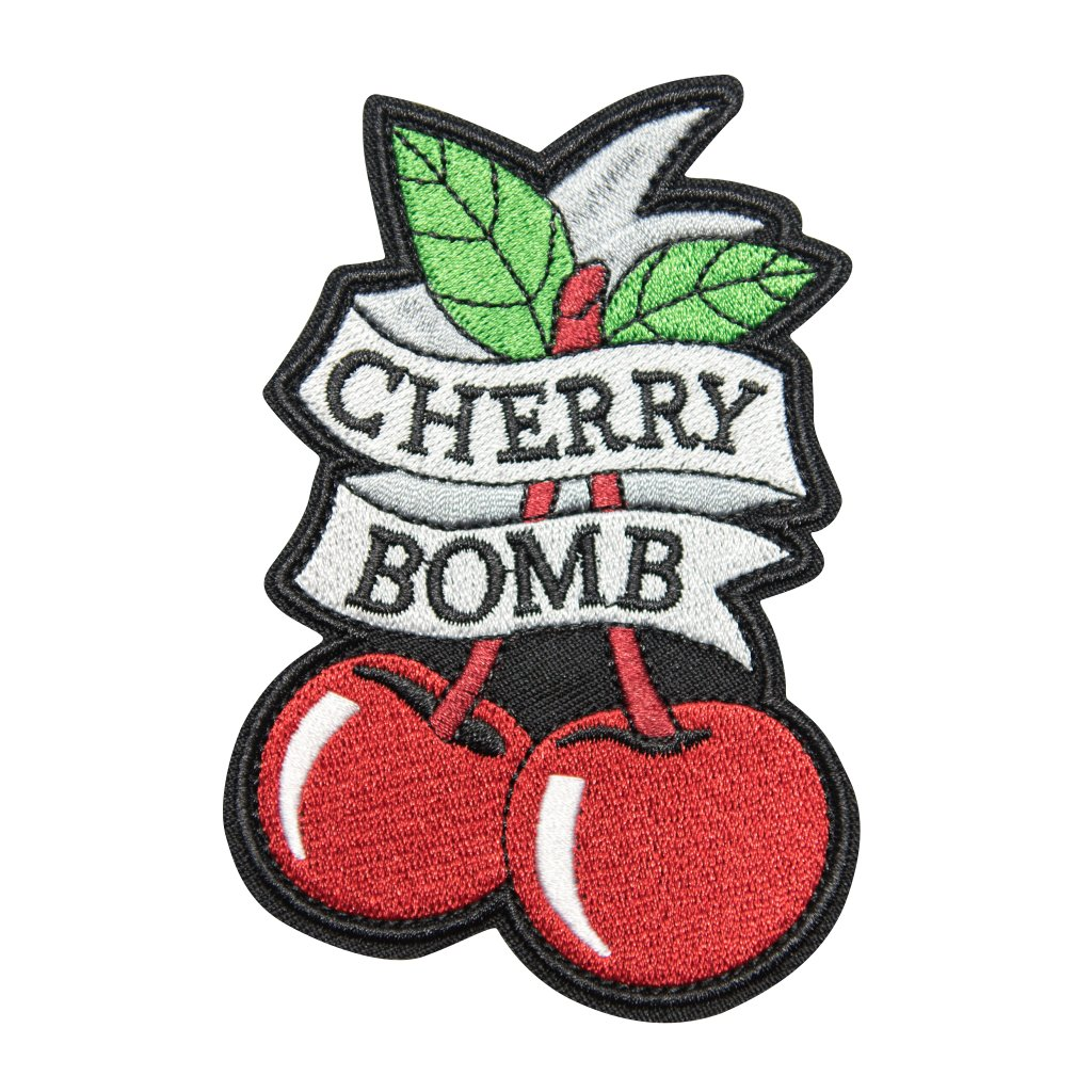 Cherry Bomb nášivka