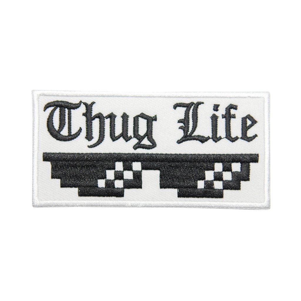 Thug Life MEME nášivka