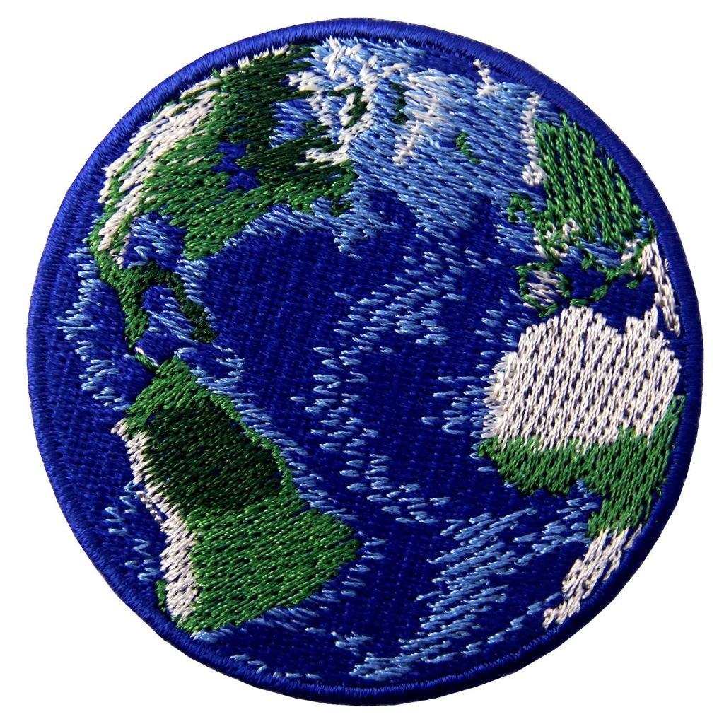 Planeta Země nášivka