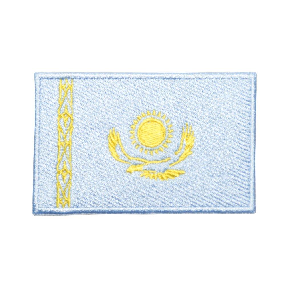 Kazachstán vlajka nášivka