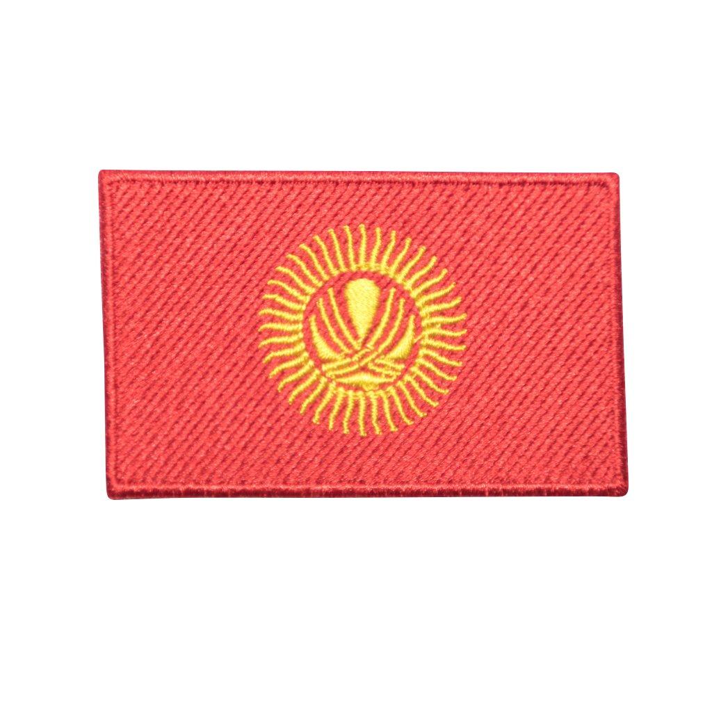 Kyrgystán vlajka nášivka