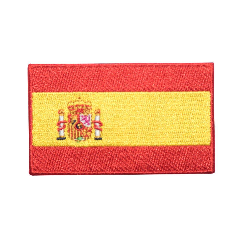 Španělsko vlajka nášivka