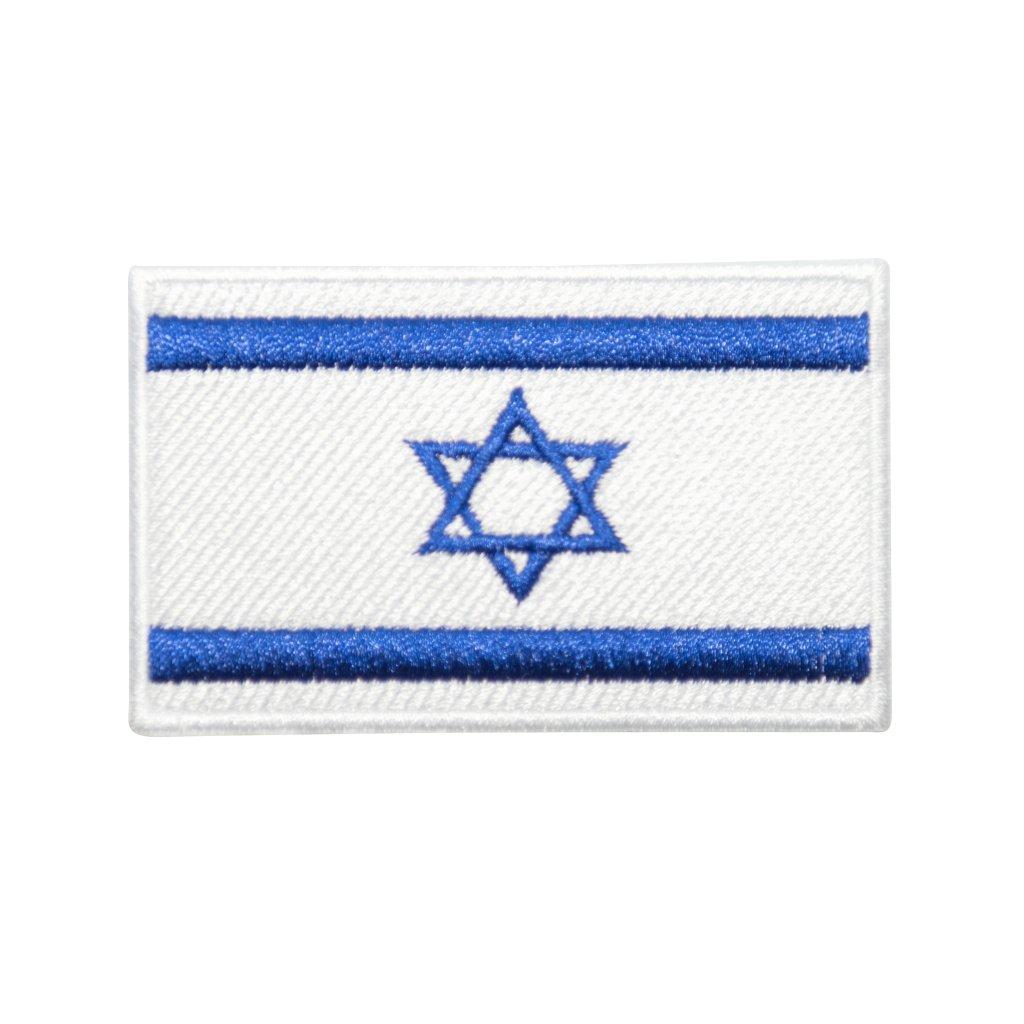 Izrael vlajka nášivka