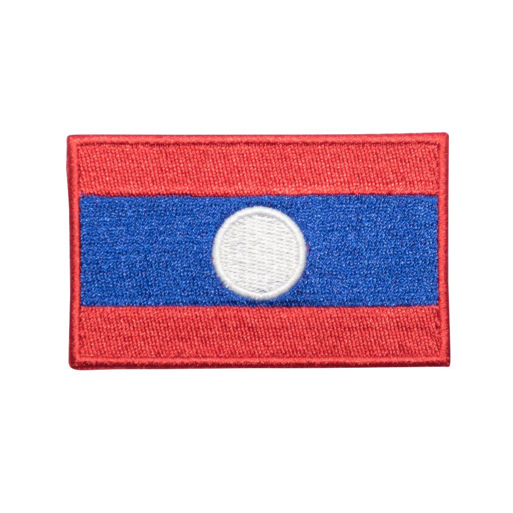 Laos vlajka nášivka