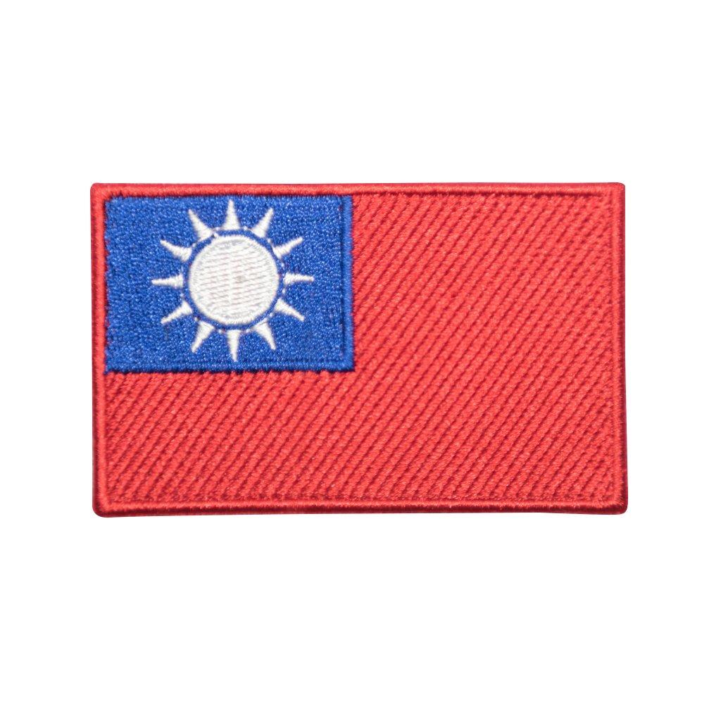 Taiwan vlajka nášivka