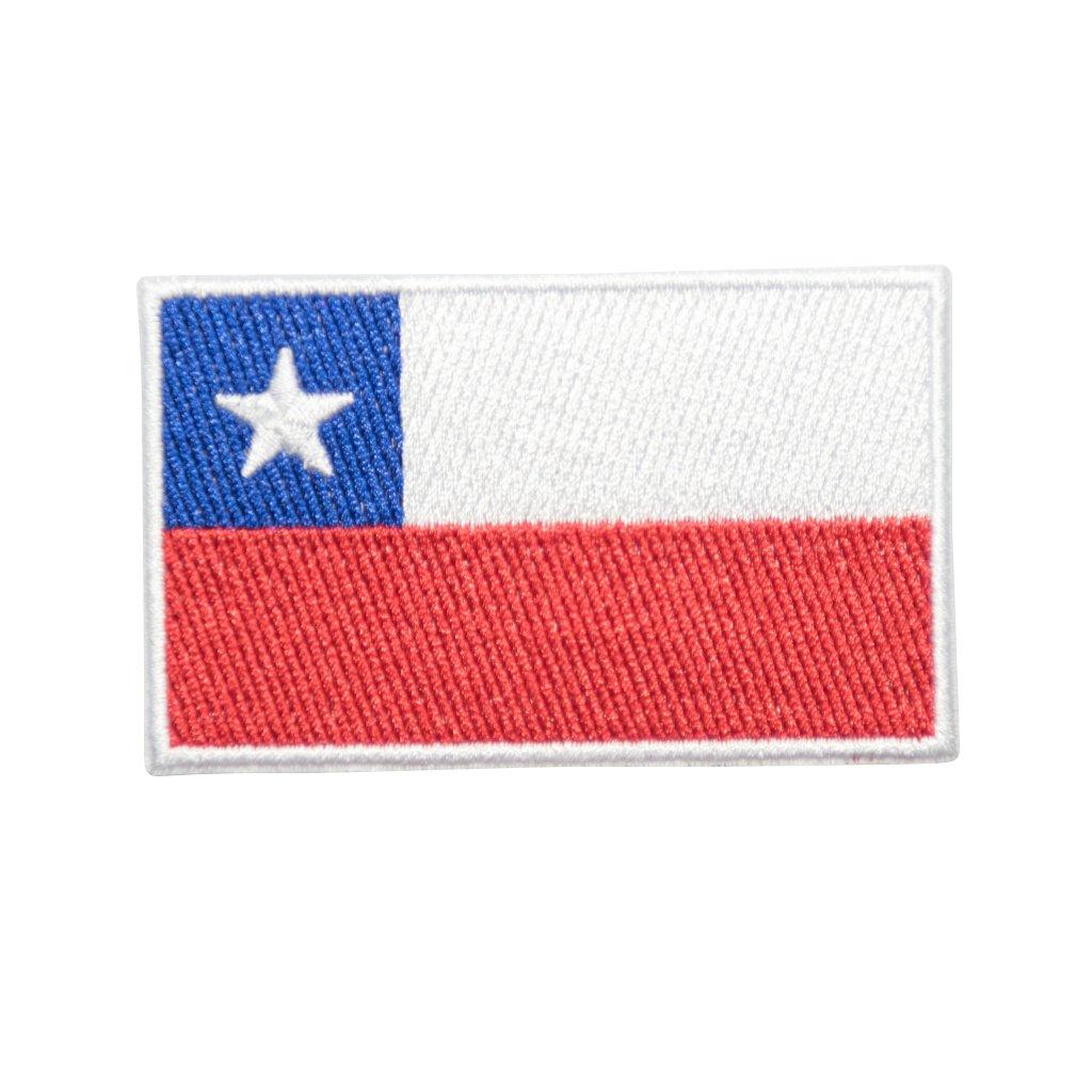Chile vlajka nášivka