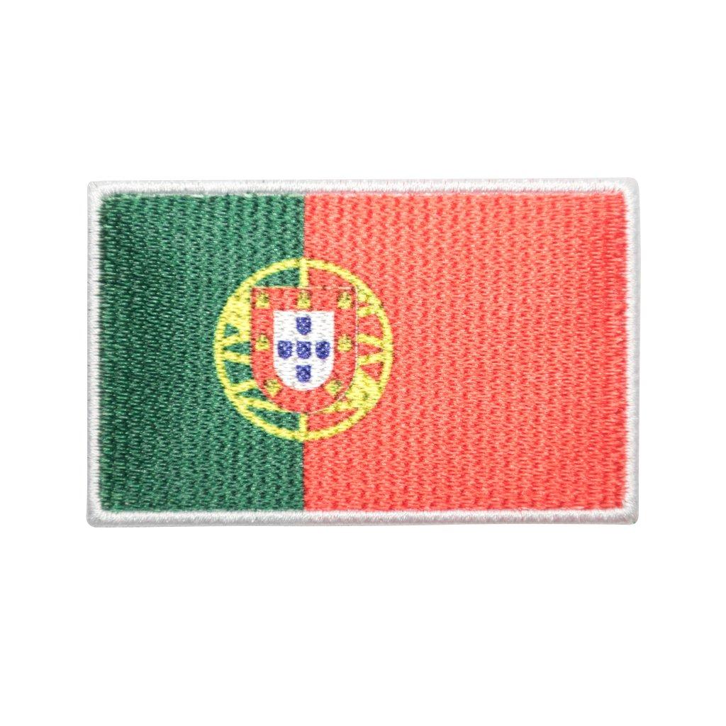 Portugalsko vlajka nášivka