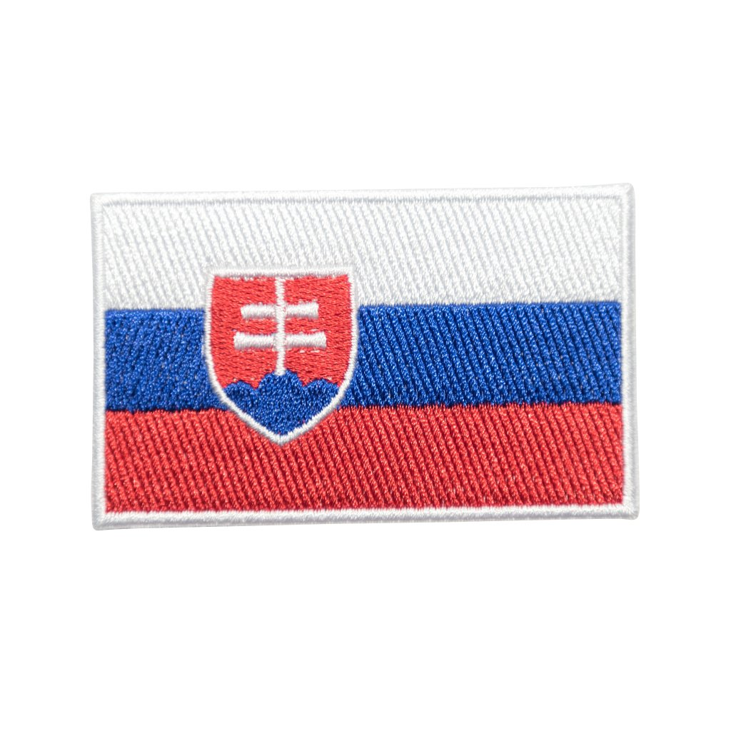 Slovensko vlajka nášivka
