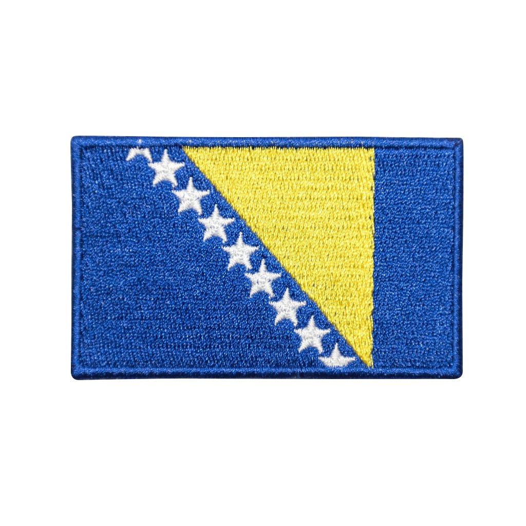 Bosna a Hercegovina vlajka nášivka
